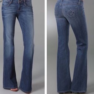 Siwy low rise bootcut jeans